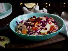 Σαλάτα λάχανο με ξινόμηλο και ρόδι   justlife - YouTube Acai Bowl, Breakfast, Youtube, Food, Acai Berry Bowl, Morning Coffee, Essen, Meals, Youtubers