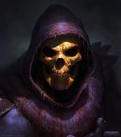 + Ilustração :     Que tal esse Esqueleto, ilustrado por David Rapoza?