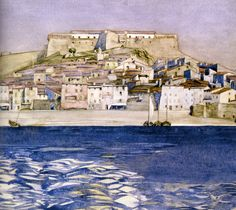 Collioure by Charles Rennie Mackintosh. Massive range of art prints, posters & canvases. Quality UK framing & Money Back Guarantee! Charles Rennie Mackintosh, Framed Art Prints, Fine Art Prints, Poster Prints, Posters, House For An Art Lover, Art Nouveau, Framing Canvas Art, Glasgow School Of Art