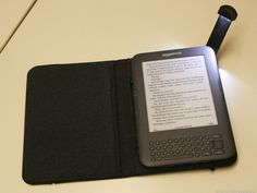 """Love my """"old school"""" Kindle with the lighted leather cover. Not a fan of tablets, but the black and white non-backlit Kindle is PERFECT for reading."""