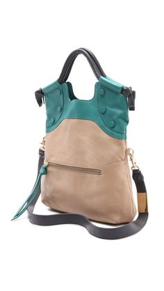 Foley + Corinna FC Lady Tote - folds over when worn as a cross body