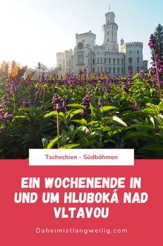 Unterwegs in und um Hluboká nad Vltavou