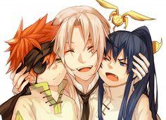 Lavi & Allen & Yuu | D.Gray-man #manga
