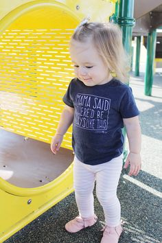 Love this Toddler Life! Check out my post today for more adorable pics of our playground adventure + enter to WIN a pair of Freshly Picked Moccasins!!