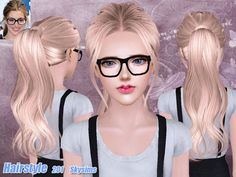 Female hairstyle for toddlers, children, teen (young) adults and elders. Found in TSR Category 'Sims 3 Downloads'