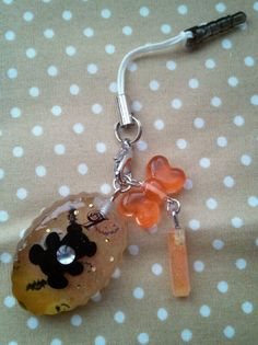 Bear earphone jack Halloween