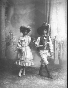sqrim: Afro-Mexican Children in Guanajuato, 1910. Romualdo...