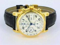 Mont Blanc Chronograph 29001, from the first year MB started producing watches, one of my early 'good' watches