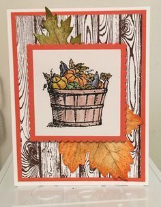 Image result for stampin up basket of wishes