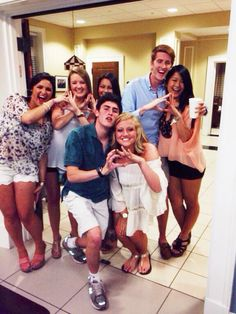 Even getting the boys to show your sorority love. #TSM