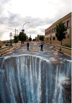 3D Street Art works from the worlds best street artists