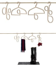 Loop Hangers that allow you to add a scarf or gloves.