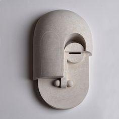 Eric Roinestad's Stunning Bauhaus Ceramics Masks   Trendland