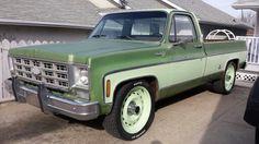 76 Chevy C 10 454 classic pickup Chevy C10, Chevy Pickups, Chevrolet, Classic Trucks, Classic Cars, Square Body, Rv Trailers, Self Driving, Chevy Trucks