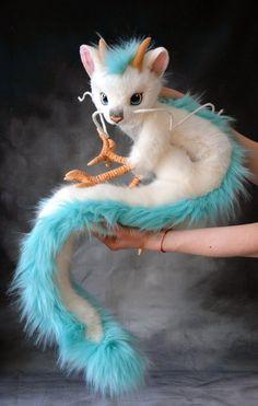 Ghibli Animation- Spirited away Cute Fantasy Creatures, Cute Creatures, Mythical Creatures, Totoro, Cute Baby Animals, Studio Ghibli, Art Dolls, Fantasy Art, 18 Months