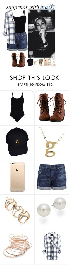 """Snap chatting with Matt/ testing Taglist"" by focusongigi ❤ liked on Polyvore featuring Baguette....., Lord & Taylor, Citizens of Humanity, AK Anne Klein and Red Camel"