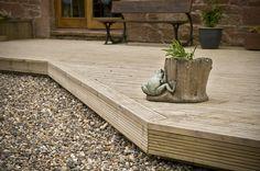 Timeless Timber Original Decking with Pro Wax 38mm x 125mm x 2.4m - 4.8m
