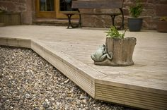 Timeless Timber Original Decking with Pro Wax 38mm x 125mm x 2.4m - 4.8m