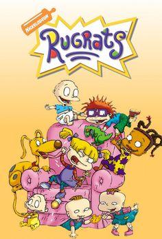 Rugrats is an American animated television series created by Arlene Klasky, Gábor Csupó, and Paul Germain for Nickelodeon. Rugrats Cartoon, Rugrats Characters, Nickelodeon Cartoons, Ps Wallpaper, Cartoon Wallpaper Iphone, Angela Anaconda, Johnny Bravo, Childhood Tv Shows, Nerd