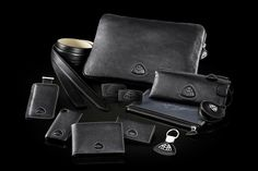 Maybach Heritage Icons of Luxury Leather Collection - Black