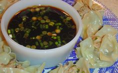 Pot Sticker or Chinese Dumpling Dipping Sauce