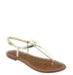 I don't travel to any place warm without these. They're super comfy and go with almost everything: Sam Edelman 'Gigi' Sandal available at Nordstrom