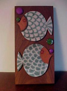 Hornsea Pottery - MURAMIC - Fish Wall Plaque - JOHN CLAPPISON