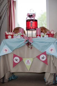 A 'Little One' Baby Shower–Red Riding Hood Style : Anders Ruff Custom Designs :