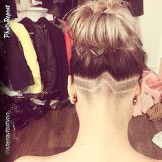 undercut for hair : Photo