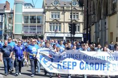 KEEP CARDIFF BLUE !!!! Cardiff City Football, Cardiff City Fc, Bluebirds, Starbucks, Street View, March, Mac