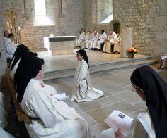 Profession Solennelle - Monastère de Chalais, France