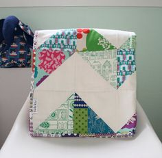 Baby quilt, hand quilted by Lukku