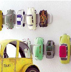 ranger les petites voitures
