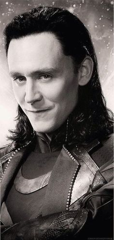 a mischievous smirk and a twinkle in his eye, Loki is up to no good! ☺Hahahahahaha.....=D