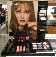 chanel cosmetic display - Google Search
