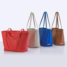 GiGi New York | Mini Taylor Tote | Pebble Grain Leather | Spring 2015