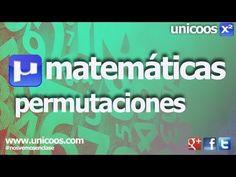 Combinatoria 02 - Permutaciones sin repeticion 4ºESO unicoos matematicas - YouTube