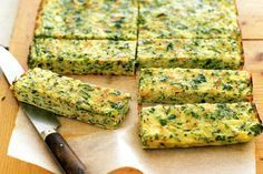 Here is a toddler snack that you have probably never seen before! Learn how to make carrot, zucchini and parsnip frittata fingers from taste.com.au. This is a yummy snack full of healthy veggies for that little one on the go! Grease 2, Green Zucchini, Black Bean Dip, Veg Recipes, Light Recipes, Healthy Recipes, Cooking Recipes, Healthy Food, Light Olive Oil