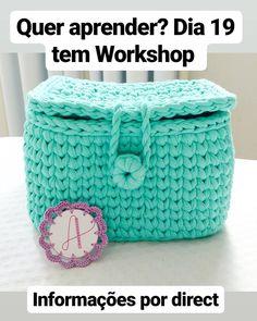 Captivating All About Crochet Ideas. Awe Inspiring All About Crochet Ideas. Diy Crochet Basket, Crochet Bowl, Crochet Basket Pattern, Love Crochet, Crochet Granny, Crochet Gifts, Crochet Yarn, Crochet Hooks, Crochet Patterns