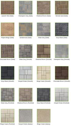 not permeable. lots of colors i could see being gorgeous out there. sustains vehicular traffic, so might be more than we need. Concrete Patios, Concrete Patio Designs, Paver Designs, Backyard Patio Designs, Brick Patios, Front Walkway Landscaping, Outdoor Tiles, Outdoor Flooring, Terrace Floor