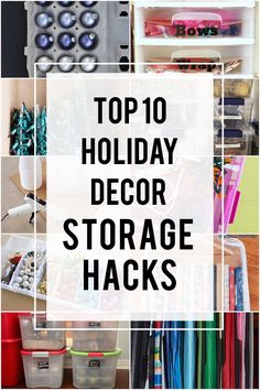 As I start the process of unpacking my haphazardly stored holiday decor each year, I always think to myself that there must be a better way. So this year I decided to do something about it as part of our Project Organize Your ENTIRE Life series. What did I do exactly? I turned to a …