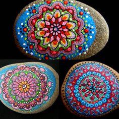 www.facebook.com/DiArtPaintStone/ #Dianajuznic #paintedstones #purplerocks #a…