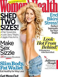 Magazine for fitness inspiration - Women's Health May 2011, Julianne Hough