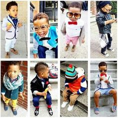 Is it possible for a little boy to have swag?