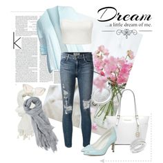 Jeans And Soft Colour by miqua on Polyvore featuring Mode, Eileen Fisher, Forever New, Frame Denim, Dorothy Perkins, Michael Kors, Oliver Peoples, Toast, Charlotte Russe and Love Quotes Scarves Forever New, Oliver Peoples, Frame Denim, Soft Colors, Eileen Fisher, Charlotte Russe, Scarves, Toast, Michael Kors