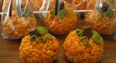 Rice crispy pumpkin