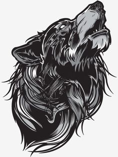 Portfolio - mcmlxxiv wolves wolf tattoos, animal tattoos et art dra Wolf Tattoos, Animal Tattoos, Body Art Tattoos, Tatoos, Wolf Illustration, Graphic Illustration, Illustrations, Tattoo Avant Bras, Geniale Tattoos