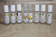Custom and Pre-Made Essential Oil Labels