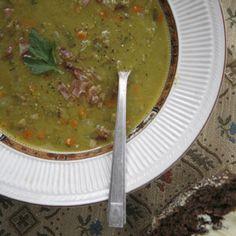 German Split Pea Soup Recipe