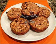 Health banana muffins
